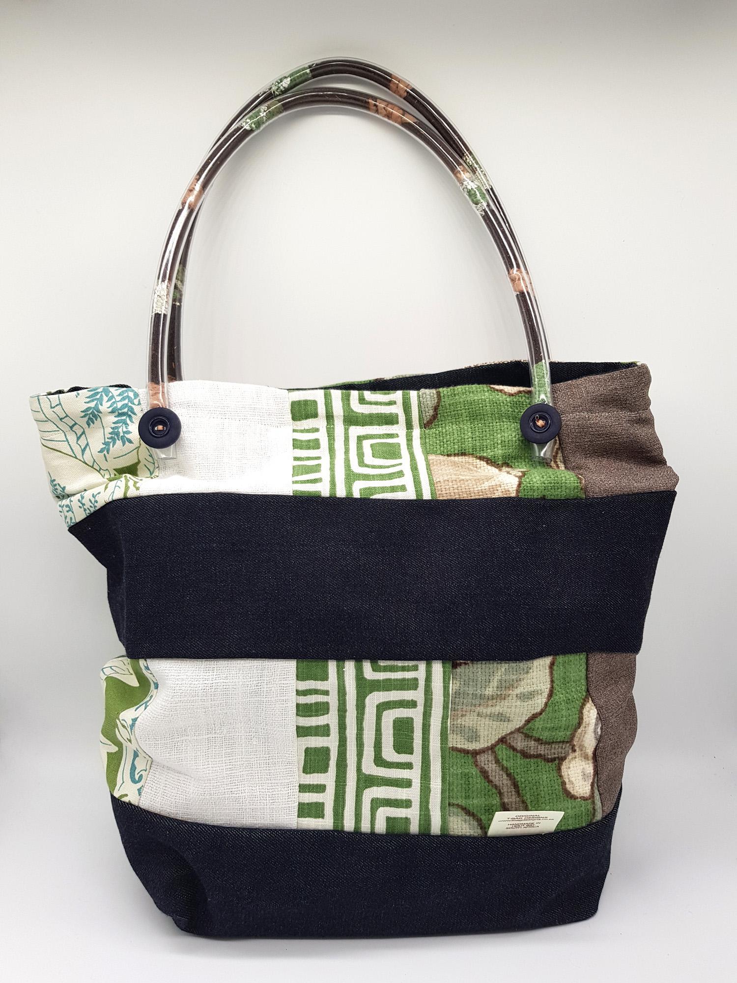 T Leaf Handle Bag