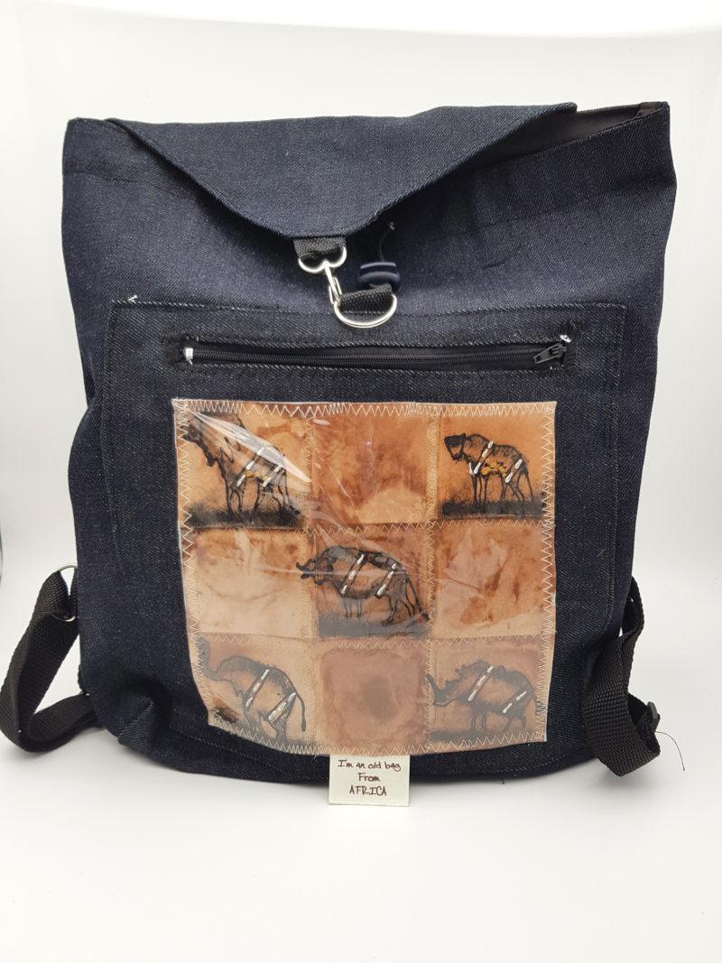 Bukelwa's Denim Back Pack