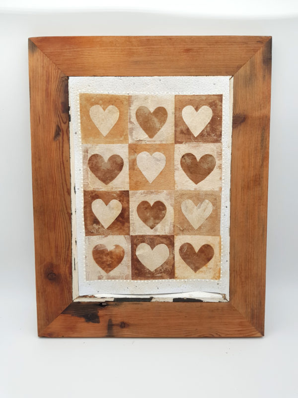 Handmade Paper Picture Heart