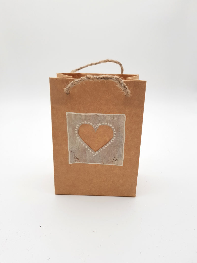 Small Carrier Bag - Natural