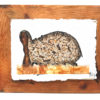 Handmade Paper Picture Hippo