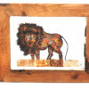 Handmade Paper Picture Lion